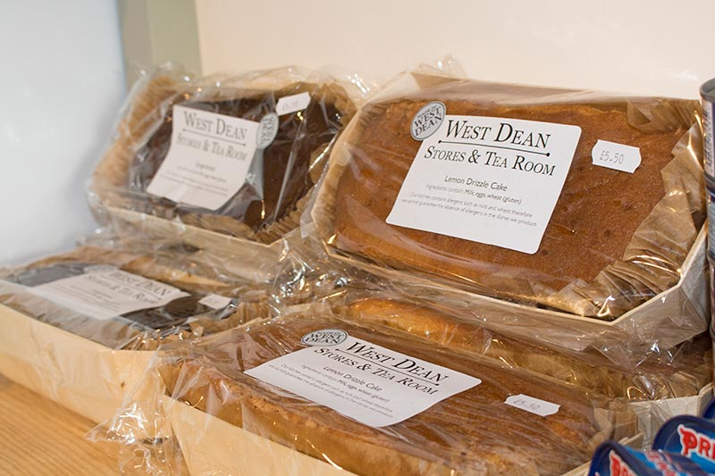 West Dean Stores cakes (photograph credit Steve Tattersall)